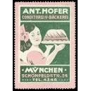 Hofer Conditorei u. Bäckerei München ... (WK 01)