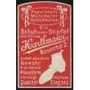 Hartlmaier München Schuh oder Stiefel ... (rot)