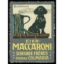Scheurer Frères Eier-Maccaroni Marke Colmaria (WK 01)
