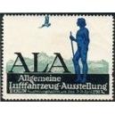 Berlin 1912 Allgemeine Luftfahrzeug - Ausstellung