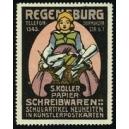 Koller Papier- Schreibwaren Regensburg ... (WK 01)