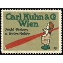 Kuhn & Co Wien Stahl-Federn u. Feder-Halter (WK 01)