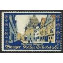 Berger Kakao Schokolade Serie Ansichten Rathaus Pößneck