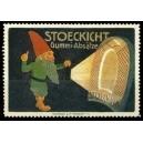 Stoeckicht Gummi-Absätze (Zwerg