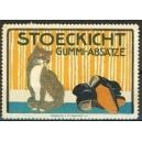 Stoeckicht Gummi-Absätze (Katze)