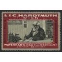 Hardtmuth Wien Serie II Bild 5 Waterman's Füllfederhalter rot