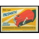 Pacomatic Fugte-Maskine ... (WK 01)