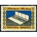 Pelikan Farben Günther Wagner (Malkasten 1 Reihe)