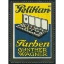 Pelikan Farben Günther Wagner (Malkasten 2 Reihen hoch)