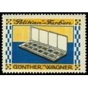 Pelikan Farben Günther Wagner (Malkasten 2 Reihen quer)
