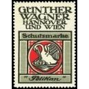 Pelikan Günther Wagner Hannover und Wien Schutzmarke