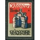 Pelikan Tinte Günther Wagner (3 Flaschen)