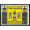 Turm Farben Redeker & Hennis, Nürnberg (WK 01)