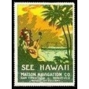 Matson Navigation See Hawaii