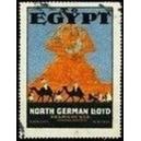 North German Lloyd to Egypt