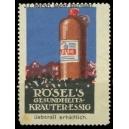 Rösel's Gesundheits-Kräuter-Essig ... Stuttgart (WK 01)