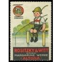 Rositzy & Witt Margarine Werke Altona ... (Angler)
