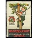 Rositzy & Witt Margarine Werke Altona ... (Baum)