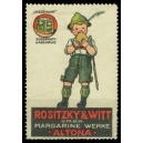 Rositzy & Witt Margarine Werke Altona ... (Essen)