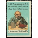 Sauermann Kulmbach München ... (WK 02 - Hofbräuhaus)