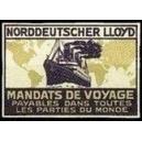 Norddeutscher Lloyd Mandats de Voyage