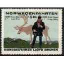 Norddeutscher Lloyd Bremen Norwegenfahrten 1914 (mit Datum)