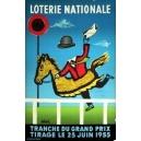 Loterie Nationale Tranche du Grand Prix 25 Juin 1955