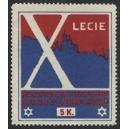 Warszawie X Lecie Pogotowia Ratunkowego (blau/rot)