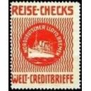 Norddeutscher Lloyd Bremen Reise - Checks Welt - Creditbriefe