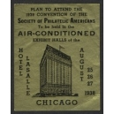Chicago 1938 Convention Society of Philatelic Americans (WK 01)