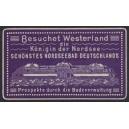 Westerland die Königin der Nordsee ... (violett)
