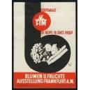 Frankfurt 1927 Blumen u. Früchte Ausstellung ...