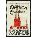 Danica Chocolade Elvirasminde Aarhus (Kirchturm)
