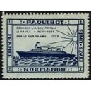 Normandie Paquebot France Etats-Unis Première liaison postale