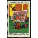 Hartwig & Vogel Diana-Cacao (2 Zwerge, Tafel, Hirsch)