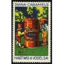 Hartwig & Vogel Diana-Caramels (2 Zwerge, Dose)