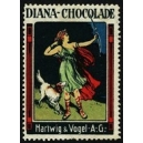 Hartwig & Vogel Diana-Chocolade (Diana, Hund)