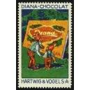 Hartwig & Vogel Diana-Chocolat (Zwerg mit Sohn, Tafel)
