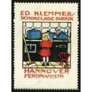 Klemmer Schokolade-Fabrik Hannover (KInd vor Herd)
