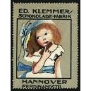 Klemmer Schokolade-Fabrik Hannover (Mädchen, Schokoriegel)