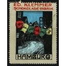 Klemmer Schokolade-Fabrik ... Hamburg (Laternen)