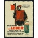 Mailand 1927 Italienische Woche der Leder Industrie ...