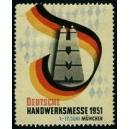 München 1951 Deutsche Handwerksmesse (WK 01)