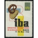 Munich 1958 iba Exposition internationale de la Boulangerie