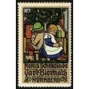 Noris Schokolade Carl Bierhals Nürnberg (2 Kinder, Baum)