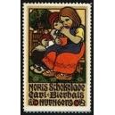 Noris Schokolade Carl Bierhals Nürnberg (2 Mädchen, Puppe)
