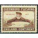 Queenboro - Flushing England - Kontinent (braun)