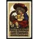 Noris Schokolade Carl Bierhals Nürnberg (Mädchen mit Hut)
