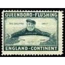 Queenboro - Flushing England - Kontinent (dunkelblau)