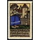 Noris Schokolade Carl Bierhals Nürnberg (Mädchen mit Tasse)